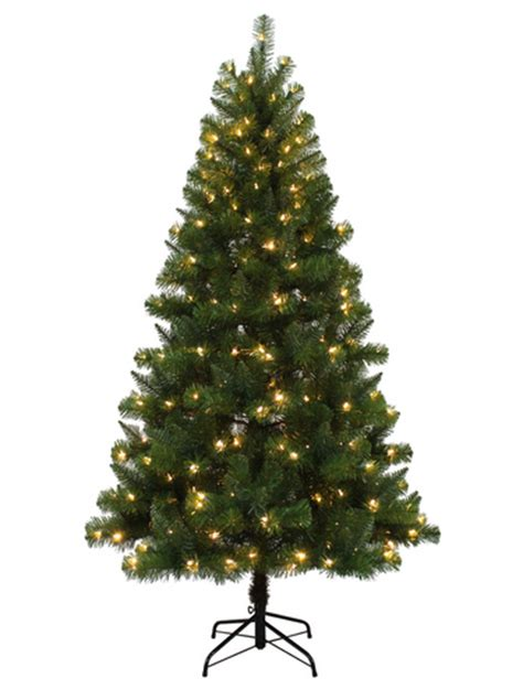 cvs christmas trees pre lit living 6 5 ft pre lit alpine artificial tree with color changing led lights