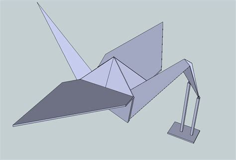 Origami 3d Model - cgtrader