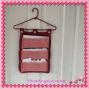 pattern for mail holder hanging mail organizer crochet pattern by raelynn orff