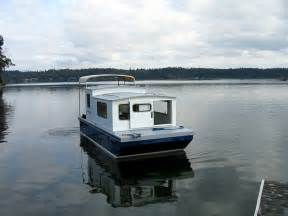 Plans For Tiny Houses houseboat devlin designing boat builders