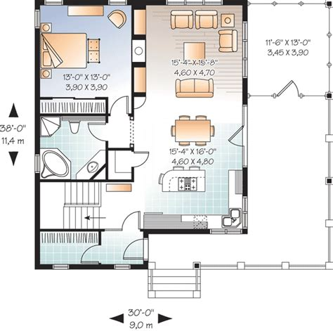 vacation cottage floor plans attractive vacation cottage 21854dr architectural