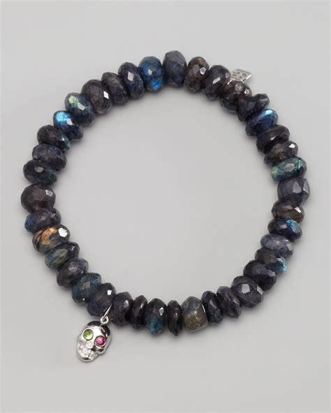 8mm bead bracelet sydney evan 8mm faceted black spinel bead bracelet w