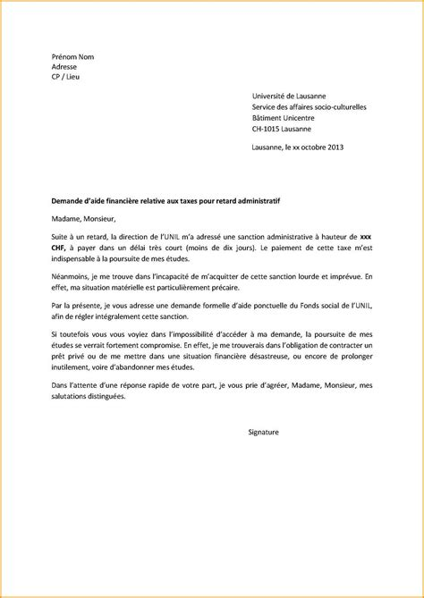Modele De Lettre Administrative 8 Lettre Type Motivation Lettre Administrative