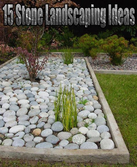 backyard landscaping ideas with stones quiet corner 15 stone landscaping ideas quiet corner