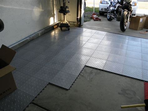 Concrete Garage Floor Covering by Interlocking Garage Floor Tiles Of The Garage Flooring