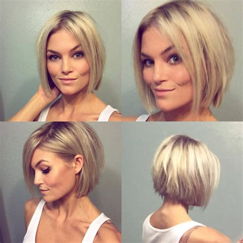 before and after of straight short bob to bridal hair ombr 233 hair carr 233 la coupe tendance du moment 26