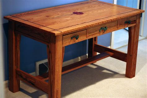 Craftsman Desk by Craftsman Style Desk By Rb12 Lumberjocks