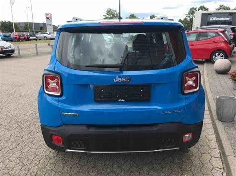 turquoise jeep renegade brugt 1 6 mjt limited 120hk 5d 6g jeep renegade 2015 km