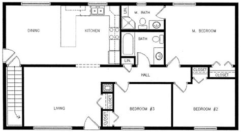Floor Plan Exles For Homes | sle house floor plans home design and style
