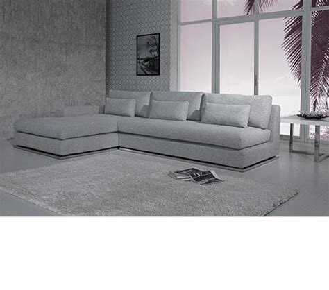 modern fabric sectional dreamfurniture com divani casa c08 modern fabric