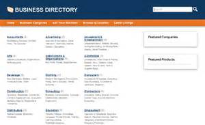 business directory templates demo of php business directory php mysql