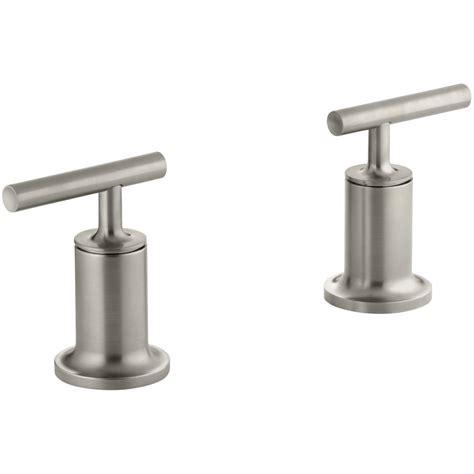 kohler forte shower faucet trim only in vibrant brushed