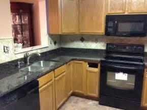 Kitchen Backsplash Ideas For Granite Countertops backsplash ideas for black granite countertops home design ideas
