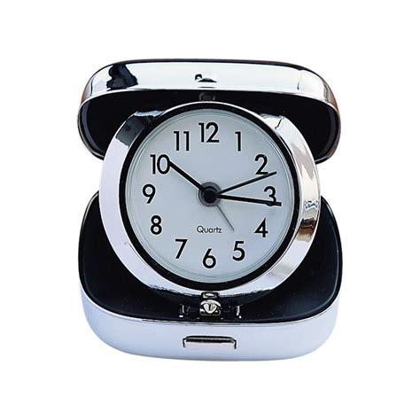 square folding travel alarm clock creativegiftsdirect