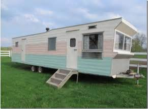 mobile home trailer don t you see the potential an aluminum awning the