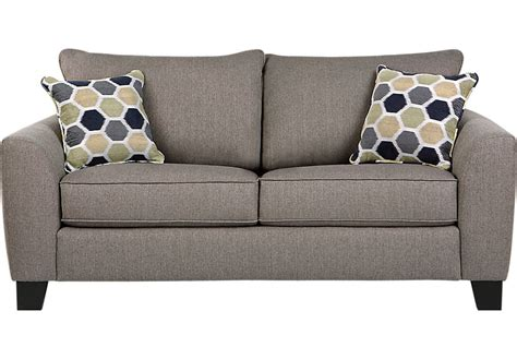 Bonita Springs Gray Loveseat Loveseats Gray