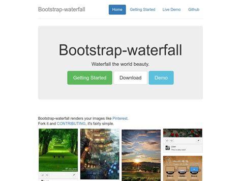bootstrap layout text bootstrap waterfall дизайн плагины bootstrap