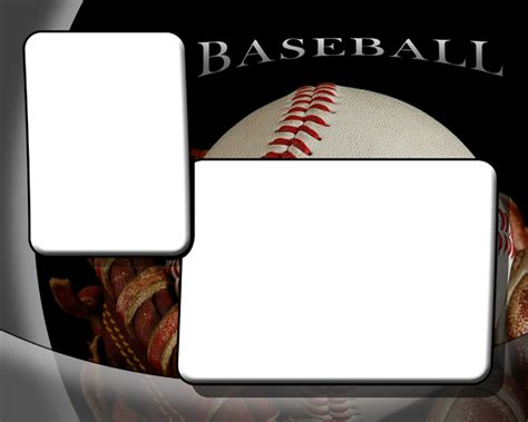 Baseball Photo Templates Memory Mate Templates