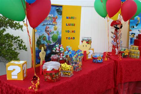 Tropical Themes For Parties - super mario bros birthday party ideas photo 3 of 5 catch my party