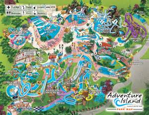 Islands of adventure orlando park map click on map for larger view