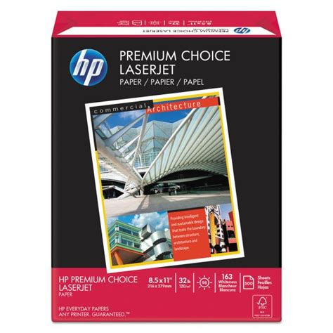 Hp Premium Laserjet hp premium choice laserjet printer paper officesupply