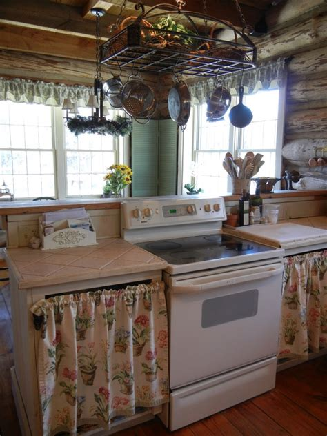 curtains for kitchen cabinets take a tour of my kitchen pure vitality