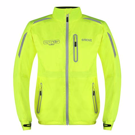 cycling jacket with lights proviz nightrider led cycling jacket has integrated