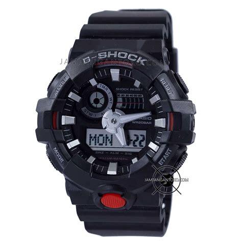 G Shock Gwp1000 Hitam Merah g shock ga 700 1a hitam merah bagian belakang toko jam