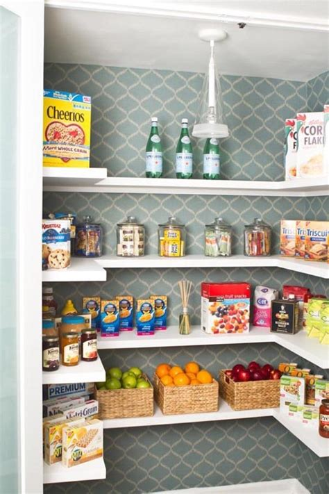 ideas for organizing kitchen pantry an organized kitchen pantry home decorating blog