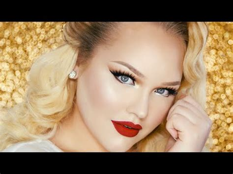 Vintage Glam PROM Makeup Tutorial ? RuPaul Inspired   YouTube