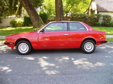 1984 Maserati Biturbo by 3 895 Maserati 1984 Maserati Biturbo E
