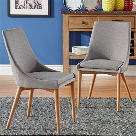 Chair Set Of 2 by Home Decorators Collection Andrew Antique Grey Dining