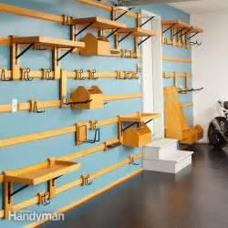 Garage Wall Storage Workshop Organization Ideas Sawdust 174