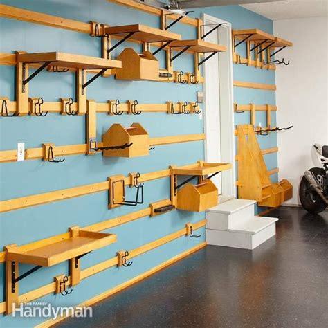 Garage Storage Wall Workshop Organization Ideas Sawdust 174