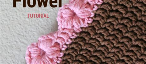 knit puff stitch photo tutorial this puff flower stitch is for an