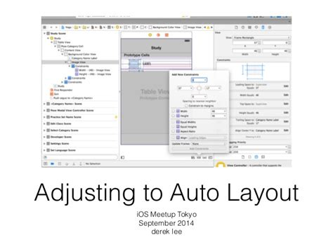 ios auto layout update frame adjusting to auto layout tutorial tips for ios auto layout