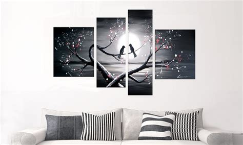 Jm Coll Textured White T3010 3 single and multipanel artwork groupon goods