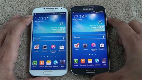 samsung galaxy s4 i9500 vs i9505 geekaphone s4 i9505 vs s4 i9500 speed comparison in opening apps
