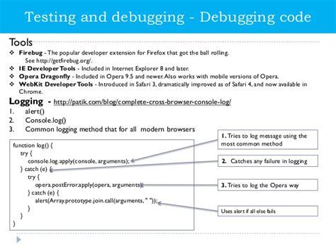 javascript tutorial for net developers javascript logging framework phpsourcecode net