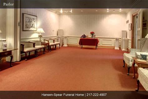 hansen spear funeral home tour