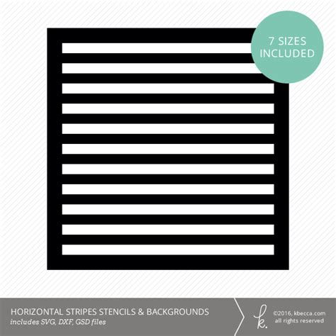 Background Stencil Cut Files Svg Files Included Stripe Stencil Template