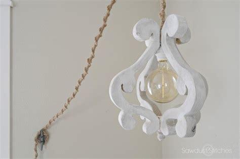 Create Your Own Chandelier Diy Wooden Chandelier Light Fixture Sawdust 2 Stitches