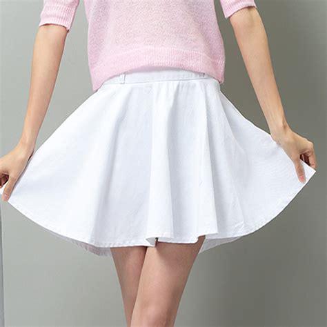 2015 white denim skirt saia feminina jean