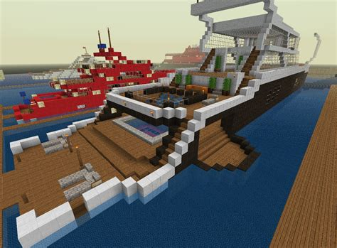 how to make a big yacht in minecraft big yacht minecraft project