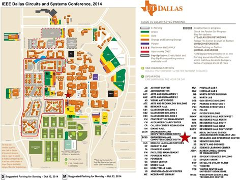 university of texas at dallas map ieee dcas2014 travel stay