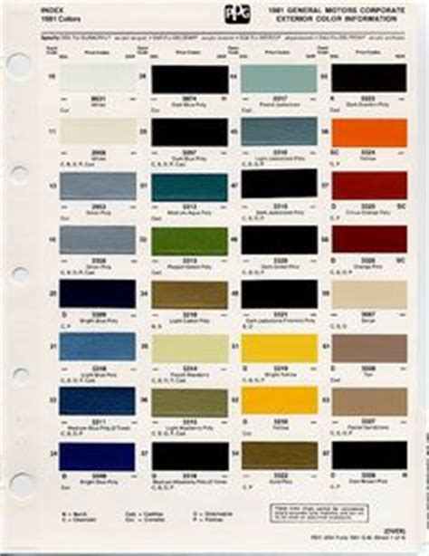 factory paint plymouth ma gm color chips color chips paint codes gm nymcc