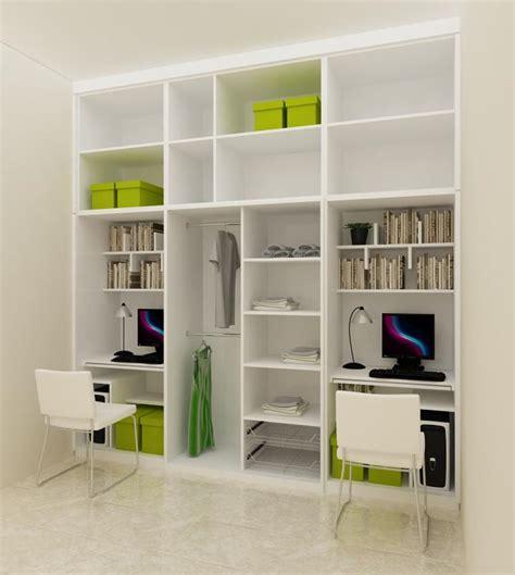 Lemari Sekat Ruangan sekat ruang tamu minimalis modern untuk rumah pengantin baru