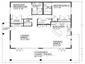 1 Story Open Floor Plans Single Story Open Floor Plans Open Floor Plan House Designs 40x40 House Plans Mexzhouse