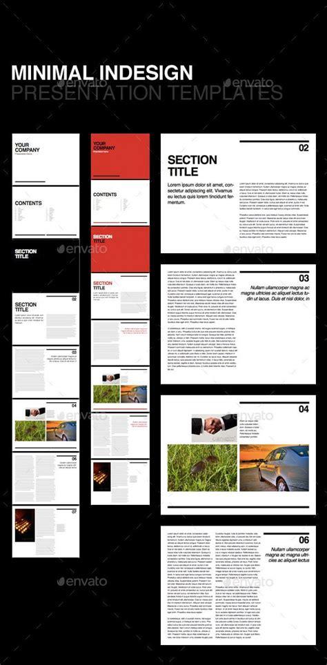 Swiss Minimal Presentation Template Corporate Brochures Creative Design Presentation Indesign Presentation Templates