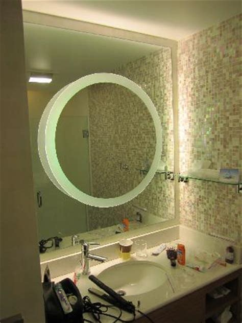 cool looking bathrooms the coolest looking bathroom ever picture of springhill suites detroit metro